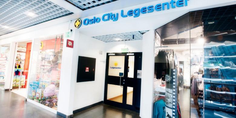 Betalingsautomat på Oslo City Legesenter